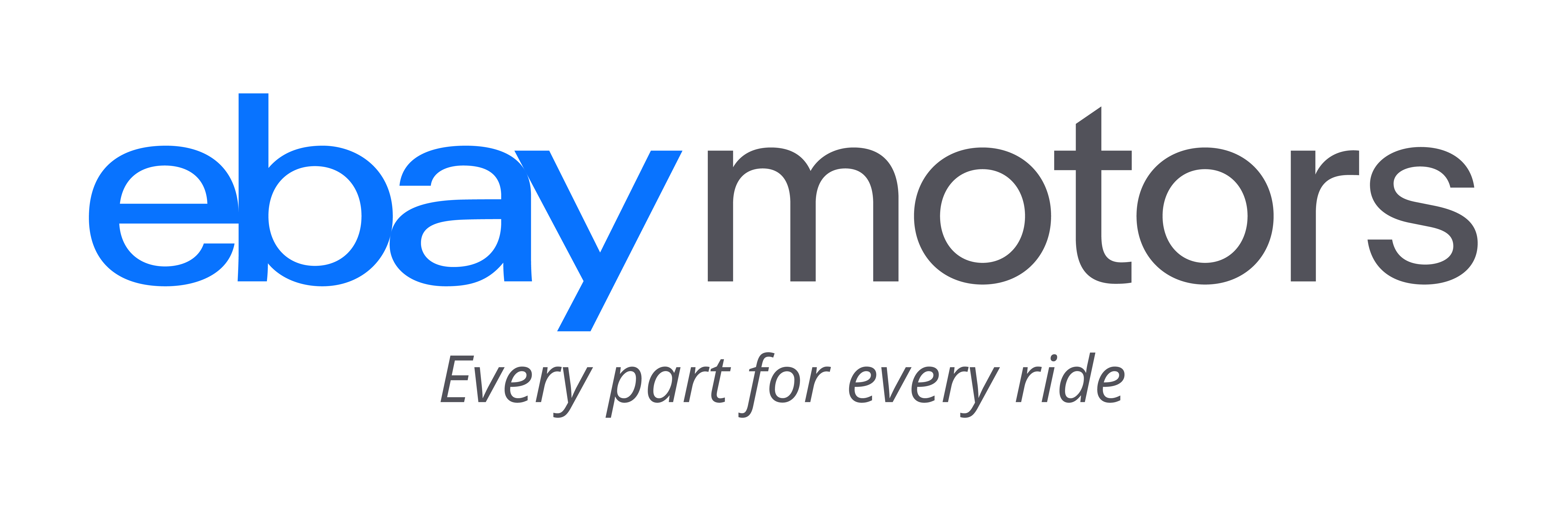 eBay Motors - Every part for every ride logo
