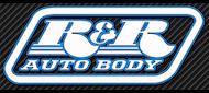 R&R Auto Body logo