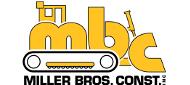 Miller Bros. Const. logo
