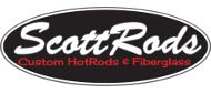 ScottRods Custom HotRods & Fiberglass logo